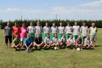 FK Řepeč-Opařany jako výtěz na turnaji 11. ročníku Memoriálu J. Vakoče