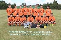 """FK ŘEPEČ-OPAŘANY """"B"""" se umístil na turnaji na druhém místě."""