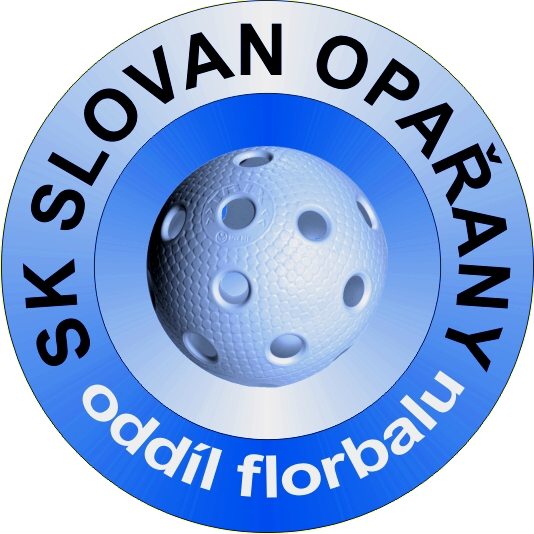 Znak SK Slovan Opařany, oddíl florbalu