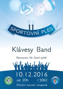 Pozvánka na 11. sportovní ples 2016