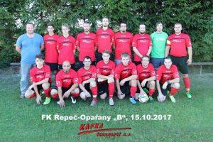 FK Řepeč-Opařany děkuje firmě KAFKA TRANSPORT a.s. za pořízení nových dresů