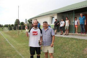 SK Červený kůň na turnaji 16. ročníku Memoriálu J. Vakoče v Opařanech 4.8.2018 (skončili jako druzí)