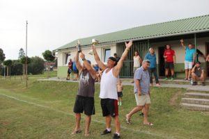 TJ Sokol STÁDLEC na turnaji 16. ročníku Memoriálu J. Vakoče 4.8.2018 (vítěz turnaje)